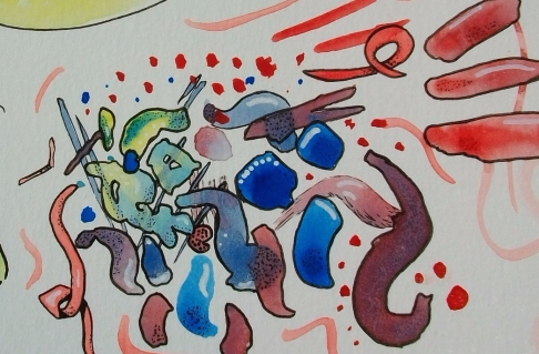 abstract discomfort