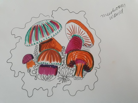 silly mushrooms